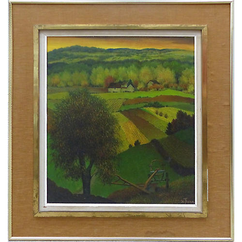 French Henri Therme Landscape