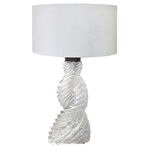 Art Deco Table Lamp by Paolo Venini