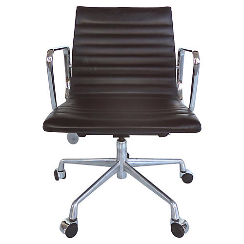 Eames Leather Desk Chair