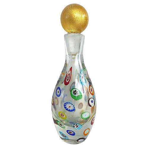 Murano Gambaro & Poggi Millefiori Bottle