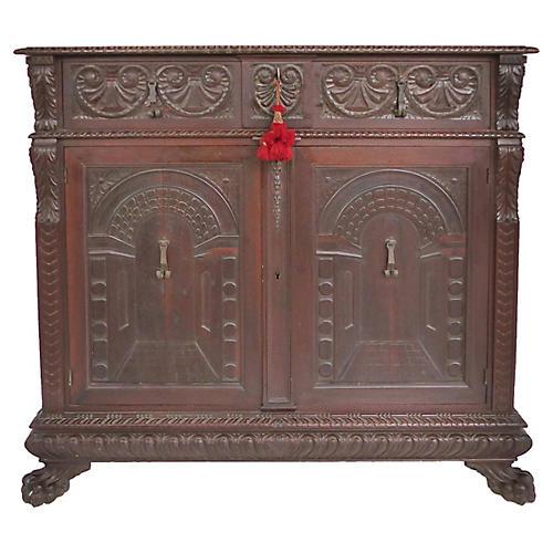 American Renaissance Revival Cabinet