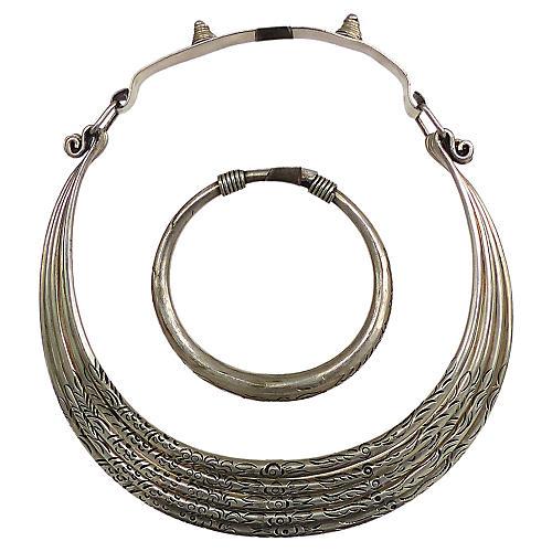 Moroccan Necklace & Bracelet Set