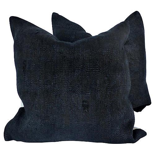 Hemp Down Filled Pillows, Pair
