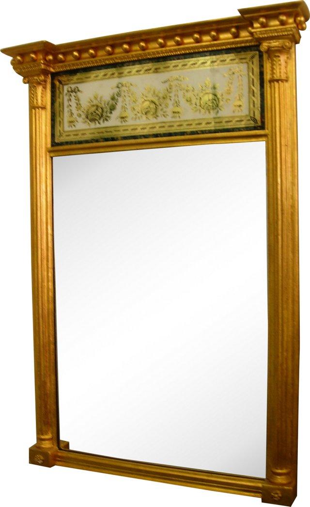 Eglomise & Gilt Mirror