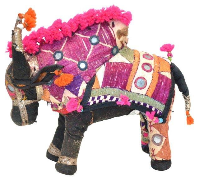 Handmade Bull w/ Pink