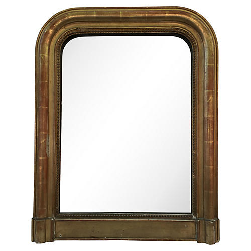 19th-C. Gilt Louis-Philippe Mirror