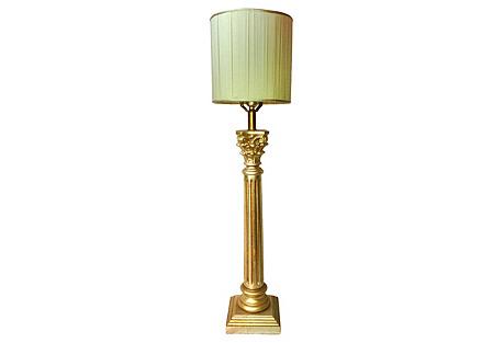 1940s Italian Table Lamp