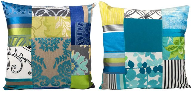 Designers Guild Pillows, Pair
