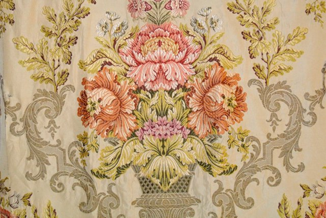 Antique French Brocade Panel