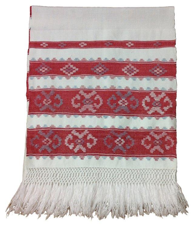 Hungarian Fringed Hand    Towel