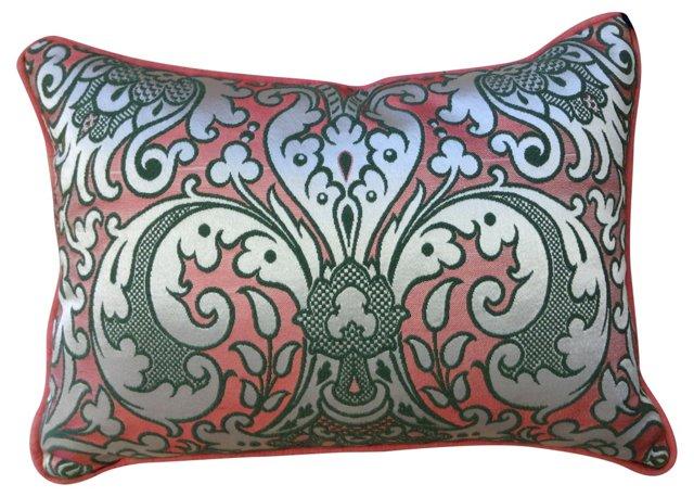 Silk Jacquard & Linen Sham