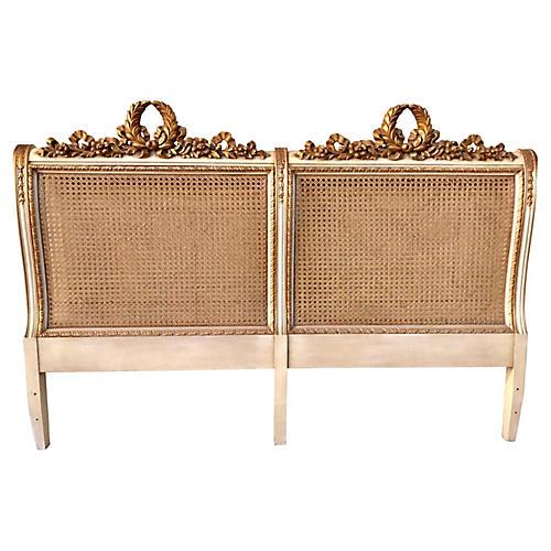 Karges Louis XVI-Style Headboard, King