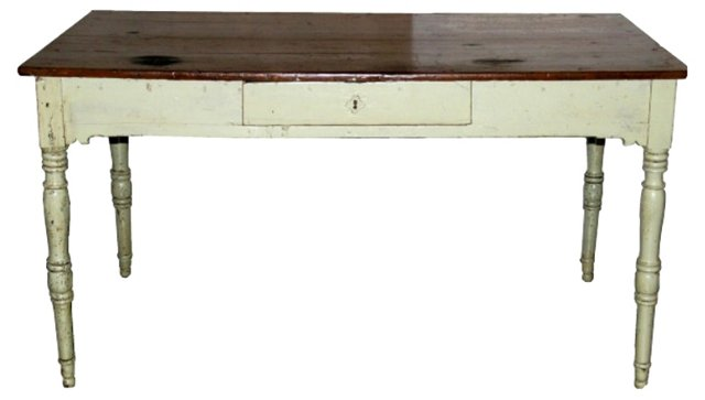 19th-C.  Italian Painted Desk