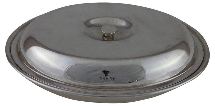 English Oval Savoy Entrée Dish, C. 1960