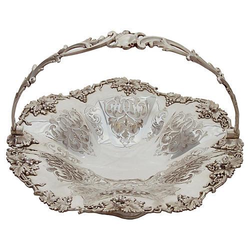 Pierced Basket English, C. 1850