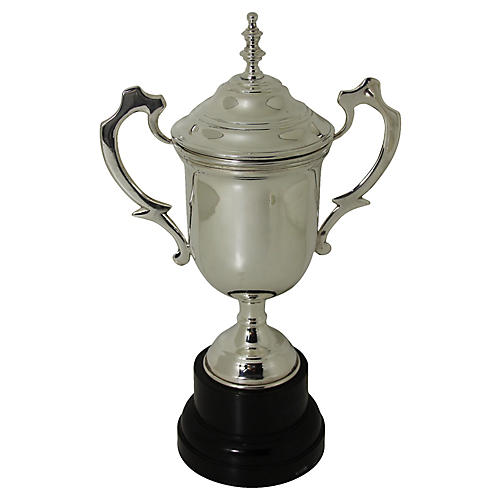 English Silver Plate Cup, C. 1900