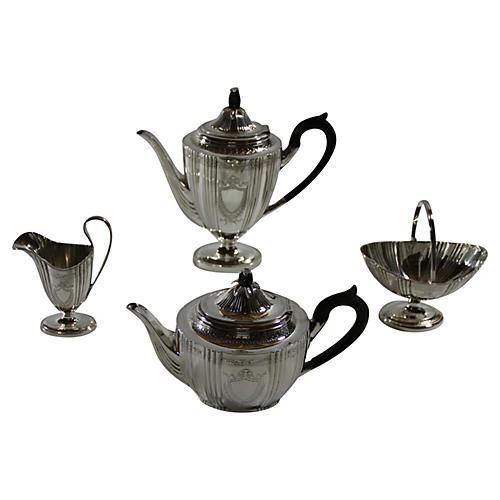 English Tea & Coffee Set, C.1870