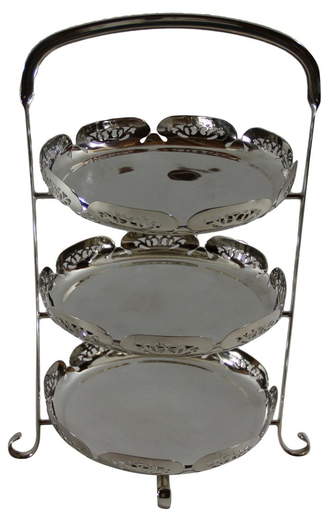 3-Tier English Cake Stand