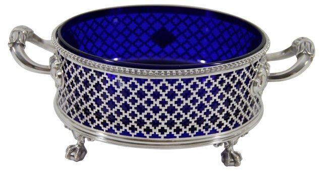English Bowl w/ Cobalt Liner