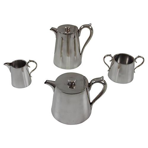 English Coffee Set, C. 1960