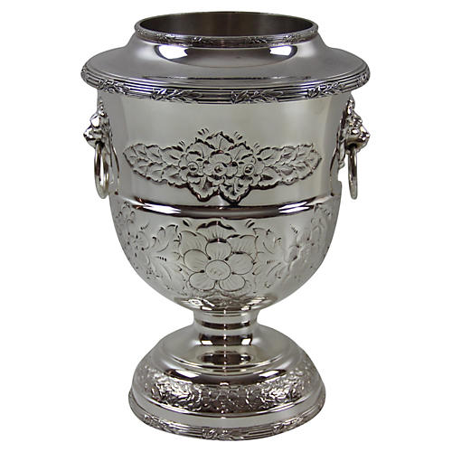 English Embossed Wine Cooler, C. 1900