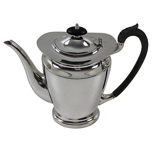 Silver-Plate Coffeepot, C.1885