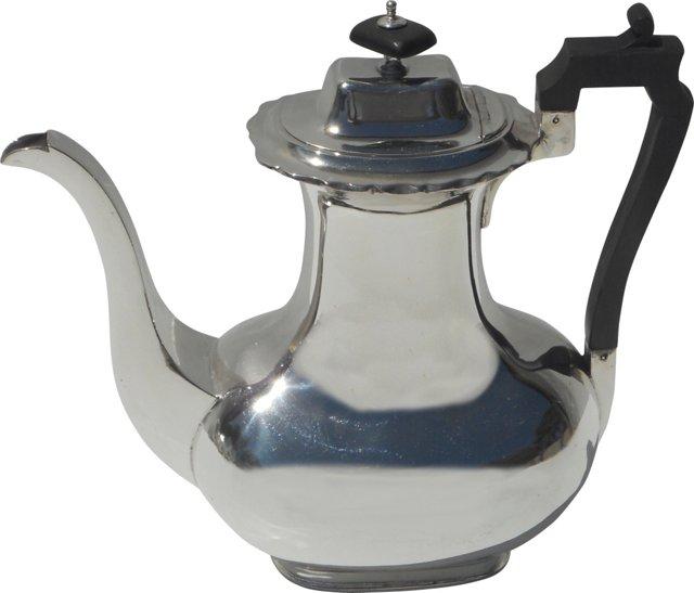 Silverplate Coffee Pot, C. 1895
