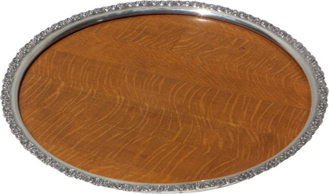 American Wooden Tray, C. 1880