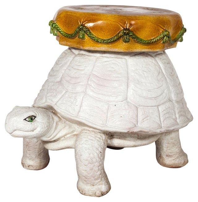 Italian Tortoise Garden Stool