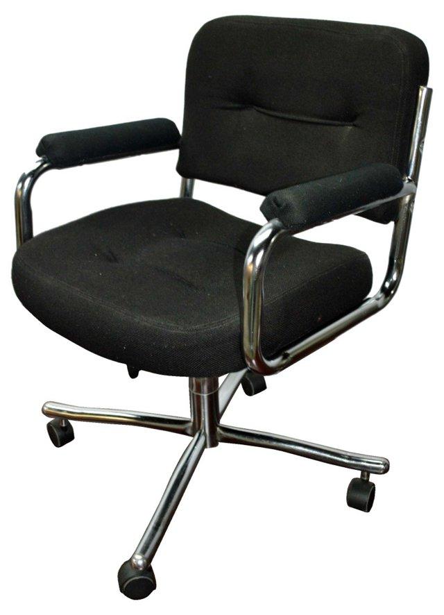 Stainless Steel Swivel Desk Chair
