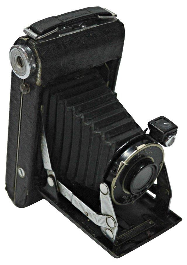 Kodak Folding Camera & Case
