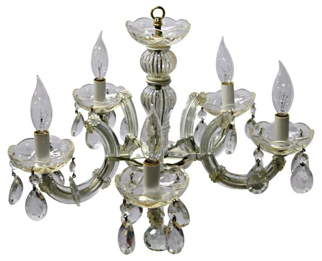 Petite Maria Theresa Chandelier