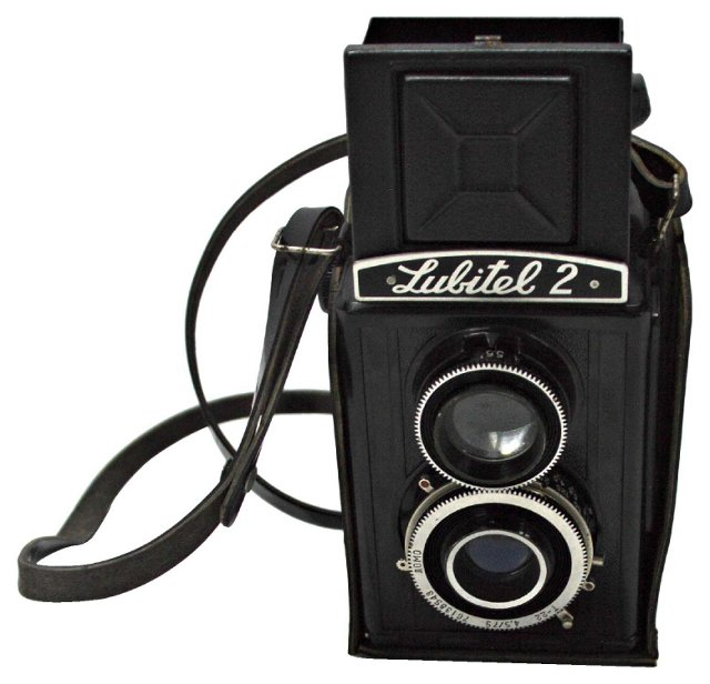 Lubitel Camera w/ Case
