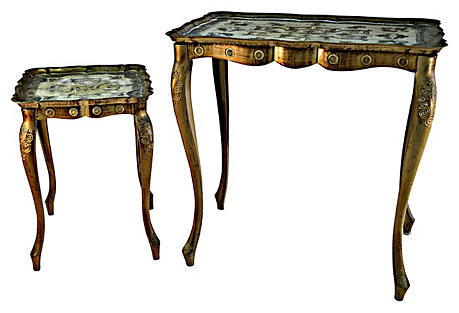 Florentine Tables, Pair