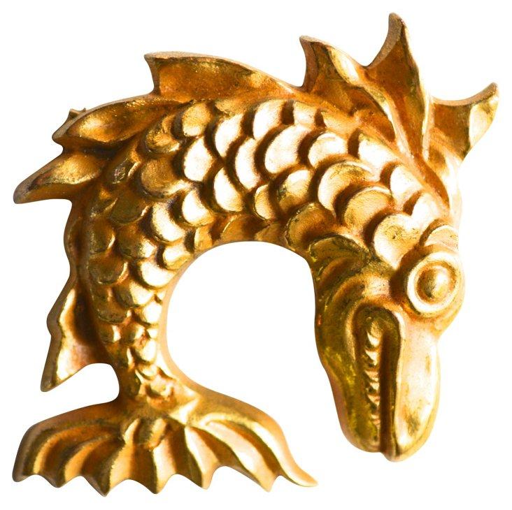 Arthus-Bertrand Fish Pin