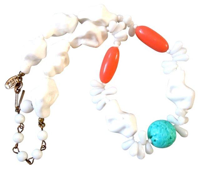 Miriam Haskell Miami Necklace