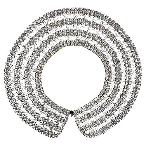60s Rhinestone Collar