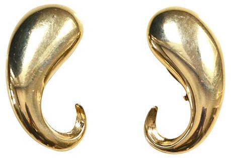 Givenchy Modern Swirl Earrings