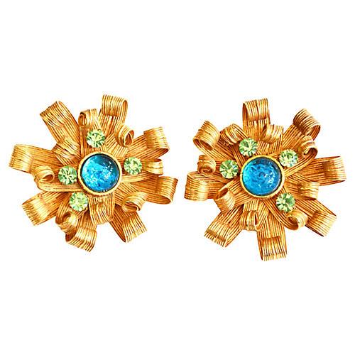 1980s Dominique Aurientis Earrings