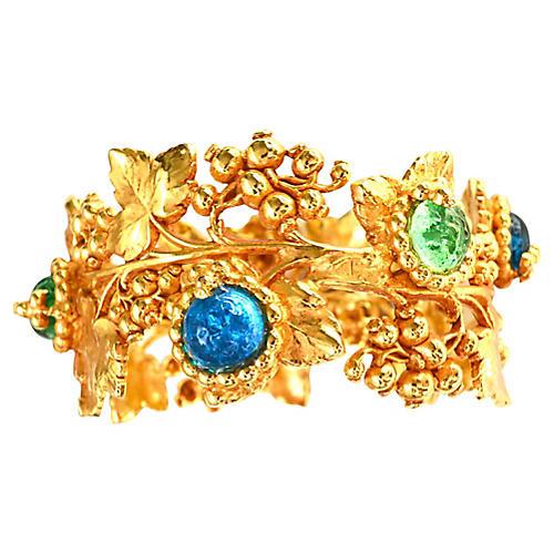 Dominique Aurientis Blue Bracelet