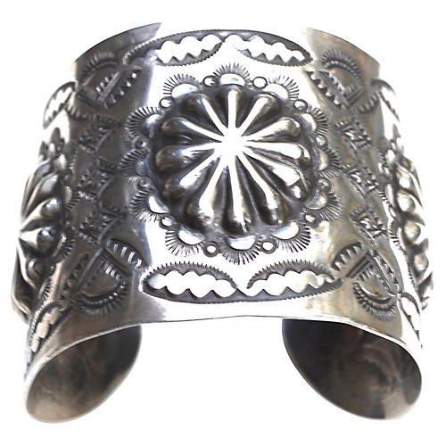Vincent James Platero Sterling Cuff