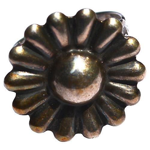 1940s Southwestern Sterling Ring