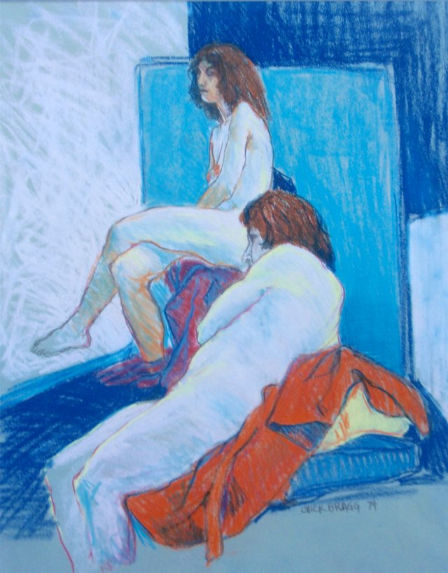 Two Nudes by Chick Bragg