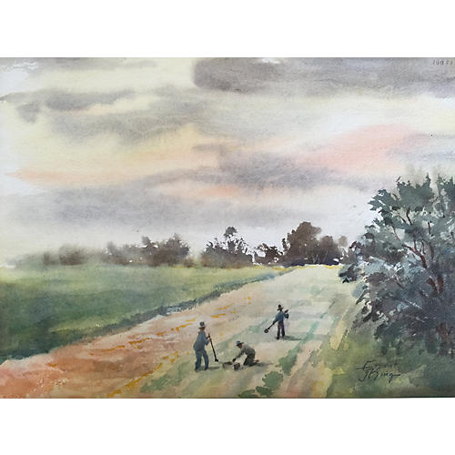 Working the Field by Ernest J. King