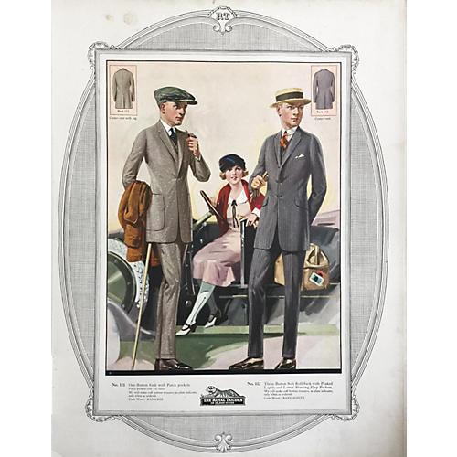 Fashion Poster Tailor Catalog, 1932
