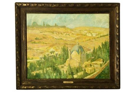 Mediterranean Landscape Lucian Pissarro