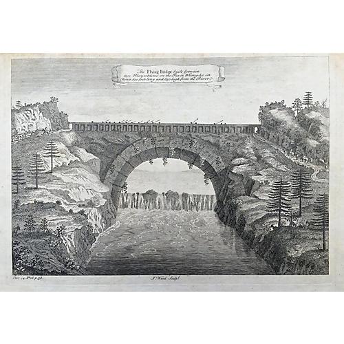 18th-C. China Flying Bridge
