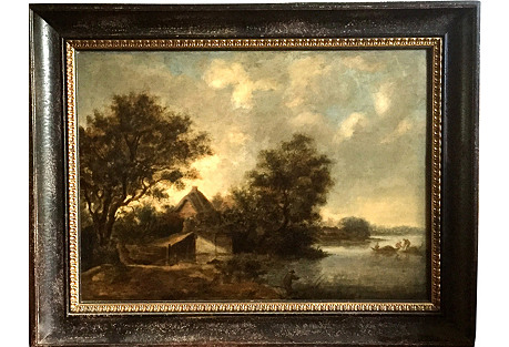 Landscape Dutch Old Master Ruysdael