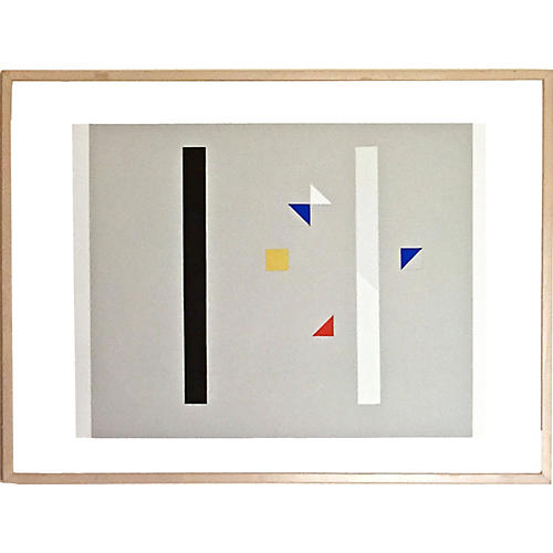 Abstract Serigraph, Friedrich Gildewart