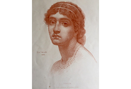 Idalia Photogravure by Thomas Riley